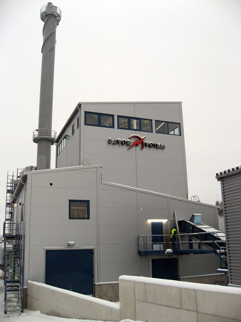 Savon Voima bioheat heating plant 1